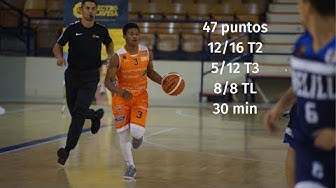 Junior Robinson 47pnt Game. LEB Gold Araberri