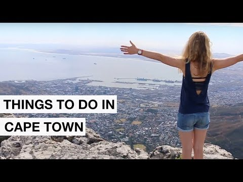 Travel Cape Town South Africa - All highlights in one video