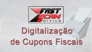 Panasonic KV SL 1056 - Digitalização de Cupons Fiscais