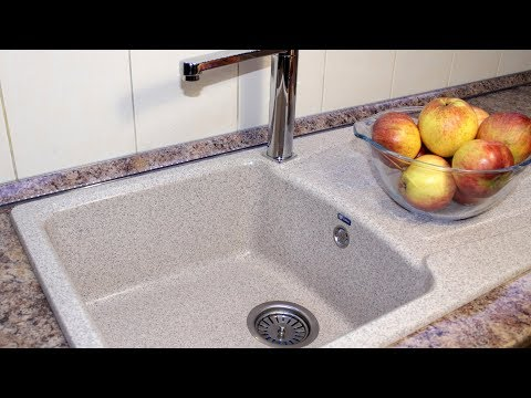 Установить раковину на кухне своими руками