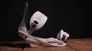 2022 Nitro Staxx Snowboard Binding Preview