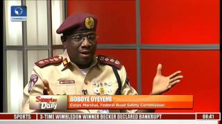 FRSC In Good Working Relationship With Lagos State - Boboye Oyeyemi