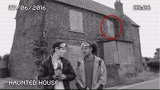 Exploring Haunted House (Old Ghost Of Owner Present!?) PART 1