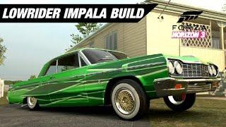 LOWRIDER 1964 IMPALA SS Build - Forza Horizon 3