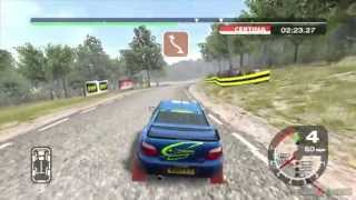 Colin McRae Rally 2005 - Gameplay Xbox HD 720P