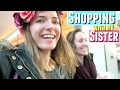 SHOPPING AT MALL WITH MY SISTER VLOG & FREE WATER BOTTLE WITH PURCHASE FROM PINK VICTORIAS SECRET
