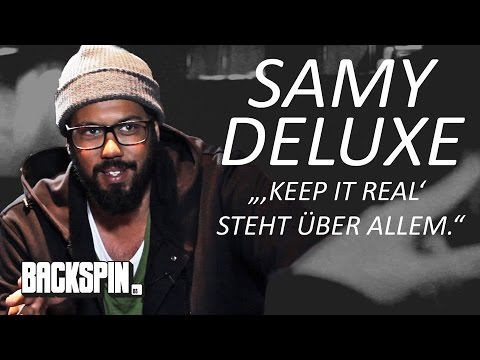 "Samy Deluxe: ""'Keep it real' steht über allem."" (BACKSPIN Talk)"