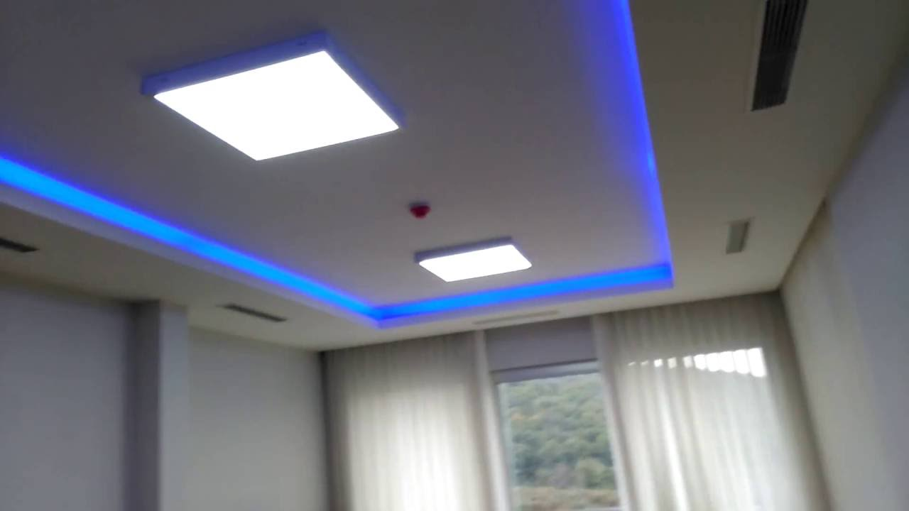 led panel rgb led montaji youtube. Black Bedroom Furniture Sets. Home Design Ideas