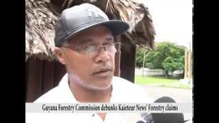 Guyana Forestry Commission debunks Kaieteur News