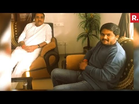 Hardik Patel Meets NCP's Praful Patel, Dumps Congress?