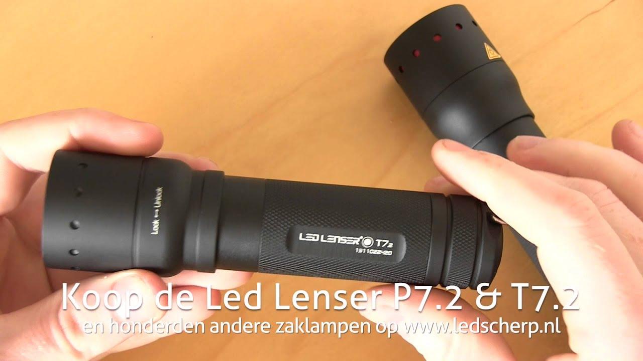 Verschil tussen de Led Lenser P7.2 & T7.2 - ledscherp.nl [NL/BE] - YouTube