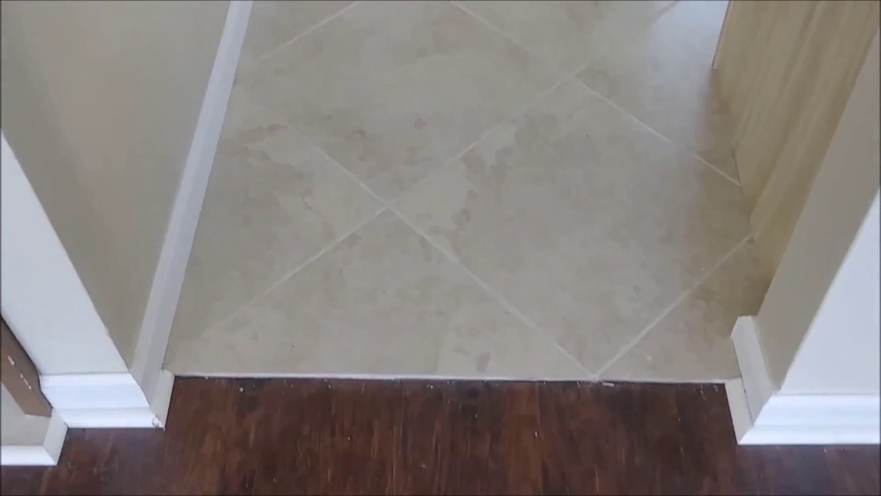 Transitions Thresholds Between Tile And Laminate Floor