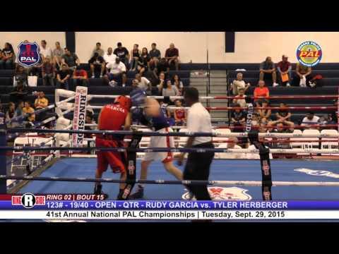 41st Nat. PAL Boxing Tournament | RUDY GARCIA vs. TYLER HERBERGER