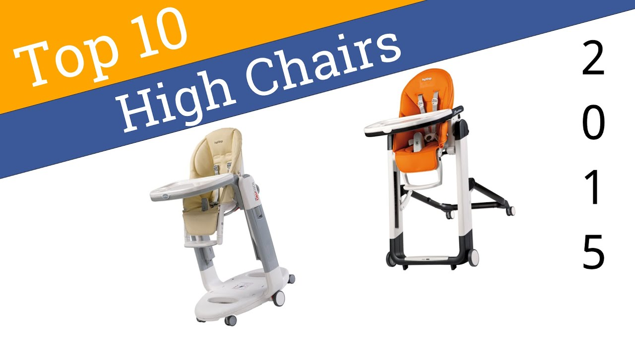 10 Best High Chairs 2015