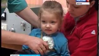Ремонт в детской поликлинике (ГТРК Вятка)(В детской поликлинике Кировской городской больницы № 5 закончился ремонт. С момента открытия поликлиники..., 2013-01-15T07:57:23.000Z)