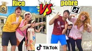 RICO VS POBRE FAZENDO TIK TOK #2 - Família Rica VS Família Pobre