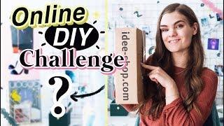 Ich bestelle meine Bastelsachen zufällig! - Online Shop Challenge // I'mJette