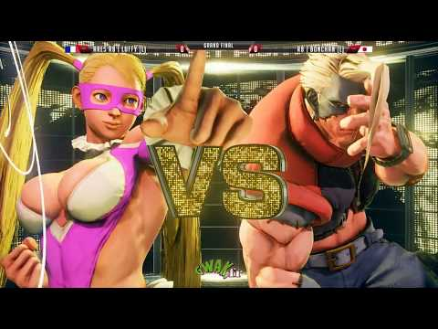 Brussels Challenge Major - SFV - Grand Final - Ares.RB | Luffy(R.Mika) Vs RB | Bonchan(Nash, Karin)