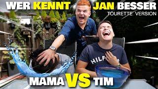 Tourette erzählt ALLE Geheimnisse: Jans Mutter ist geschockt! Wer kennt Jan besser?! (Falsch=Wasser)