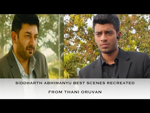 Thani Oruvan Siddharth Abhimanyu Best...