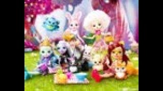 энчантималс куклы обзор мультики детские игры игрушки для детей детские куклы смотреть слушать