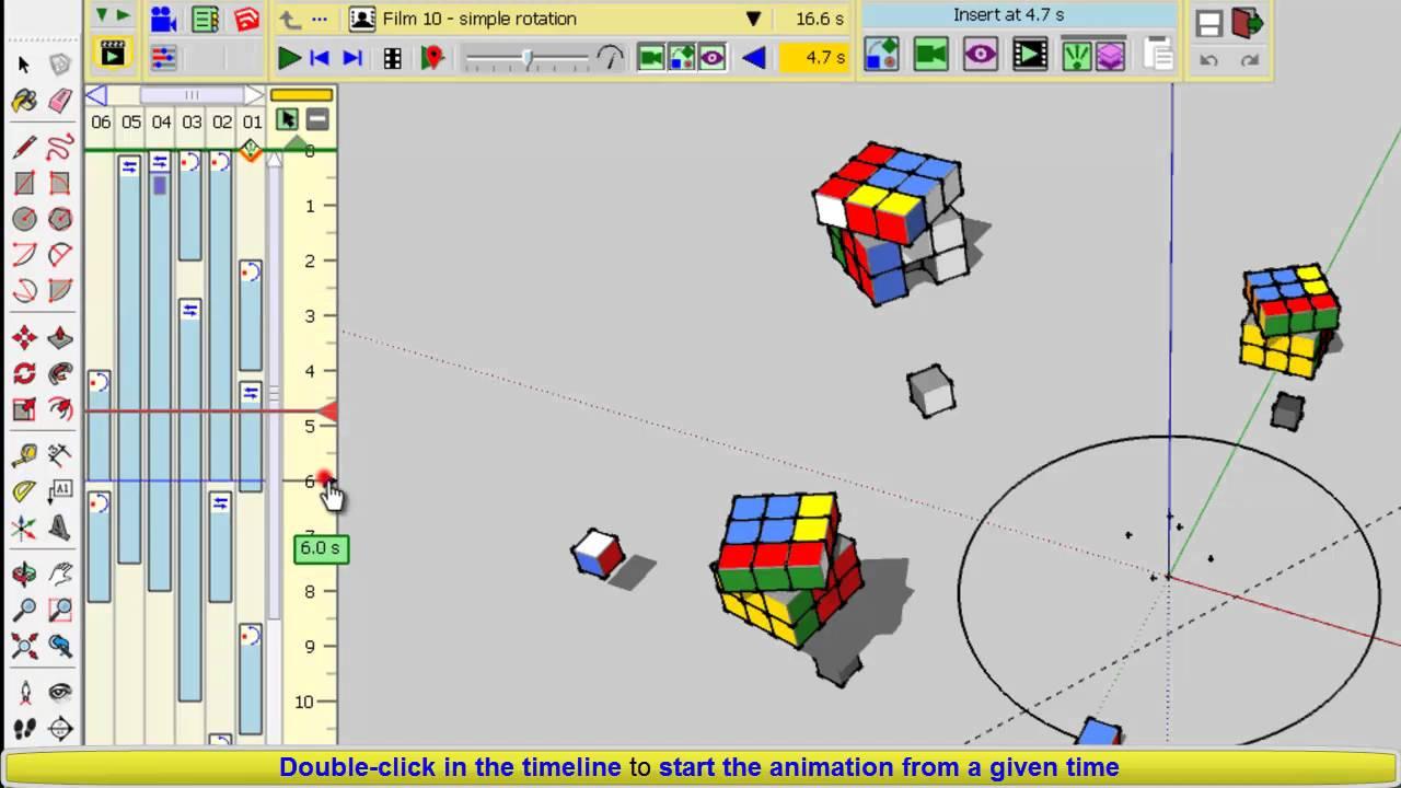 Animator Beta Tutorial Launching Stopping animations