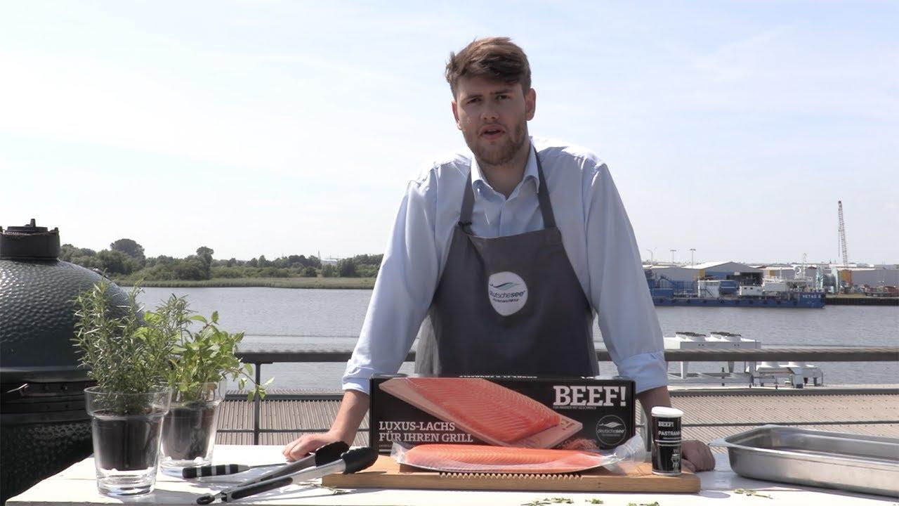 Beef Luxus Lachs Grillen Lachs Auf Zedernholz Grillen Youtube