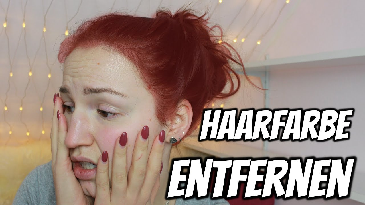 Meine Haare Sind Rot Haarfarbe Entfernen Mit Hausmitteln Lenas