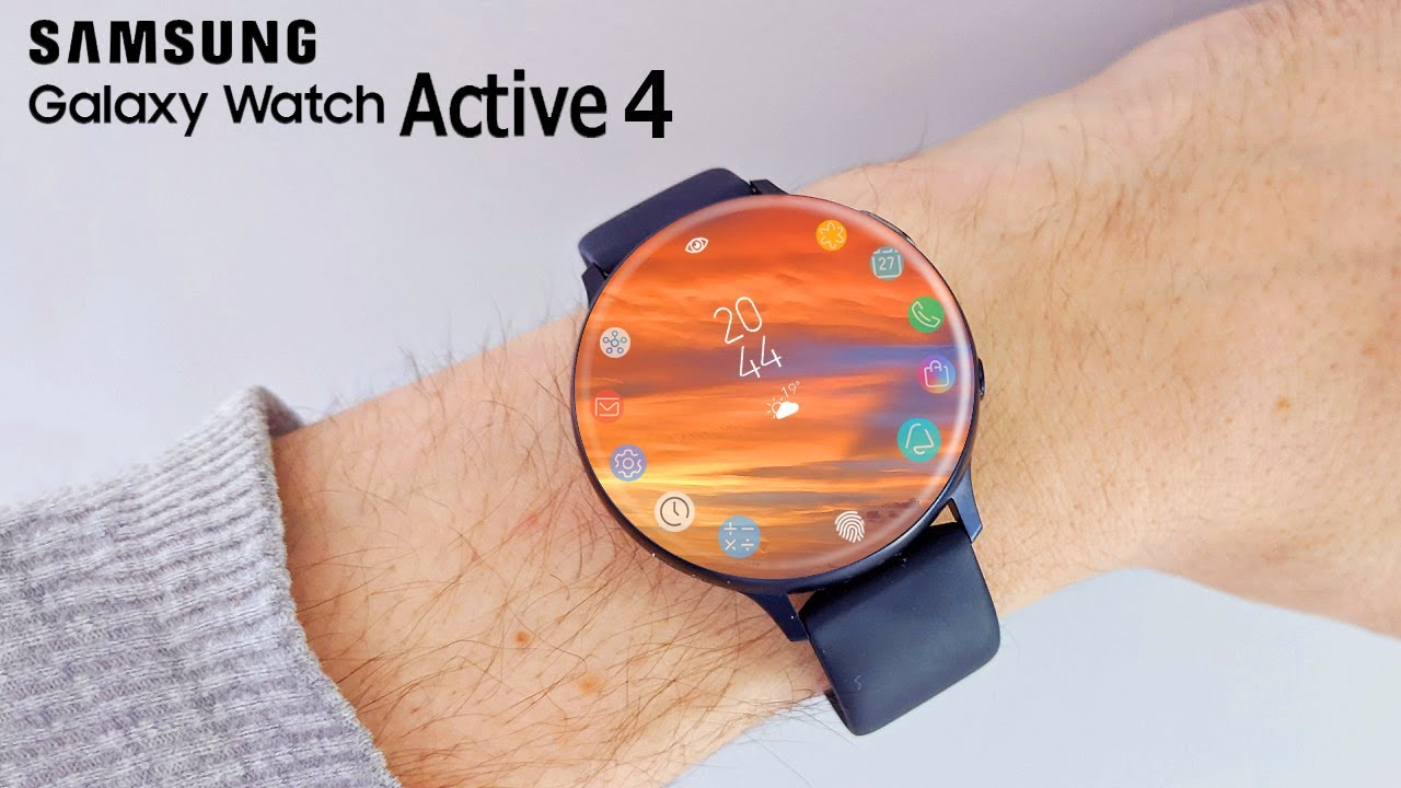 Samsung Galaxy Watch Active 4 Release Date Price Youtube