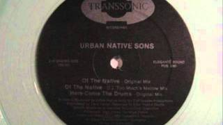URBAN NATIVE SONS - HERE COME THE DRUMS (REMIX) ( rare 1993 MI rap )