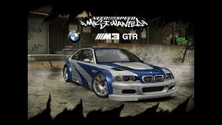 Need for Speed: Most Wanted (PC) - BMW M3 GTR Gameplay