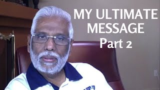 My Ultimate Message Part 2: Dr. Pillai in Manhattan