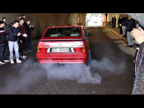 Monza Speed Day - ITALIAN ROUND  22/02/15 Crazy TUNNEL Launches & Accelerations!