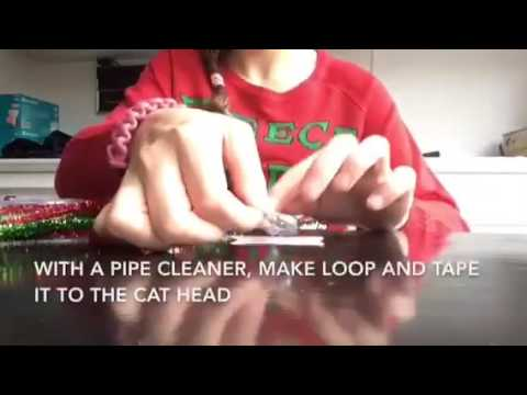 Shadow's Christmas Specials Week 1: DIY Cat Christmas Ornament