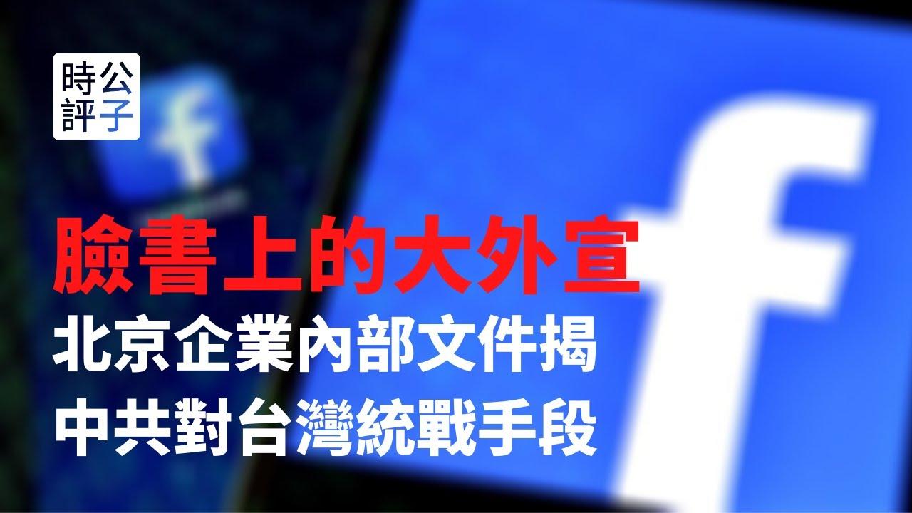 【公子時評】為了統戰台灣民眾,中共在美國社交媒體買廣告!北京某企業內部文件揭示海外大外宣手段
