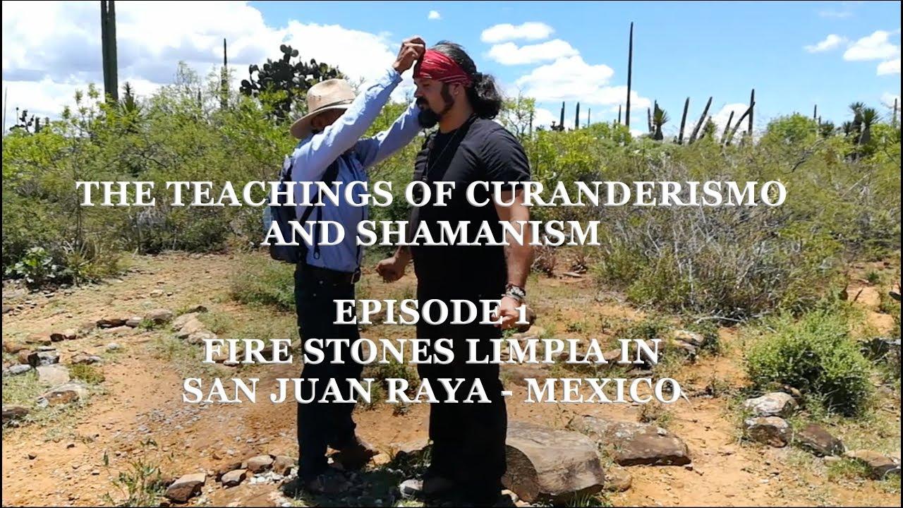 Limpia avec des pierres de feu au Mexique. Par M. Drake