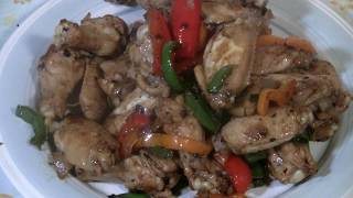 Best Chinese Chicken Wings  (Wok Stir Fry)   Chicken Wings With Black Bean Sauce