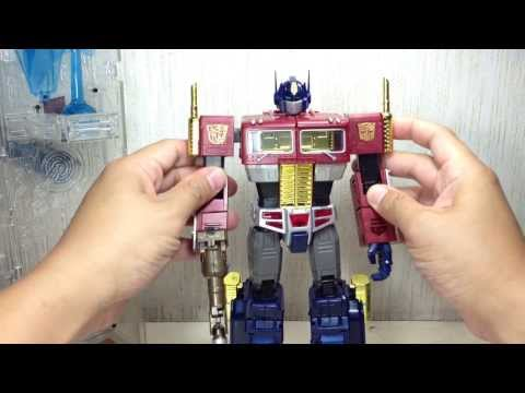 Optimus Prime Transformers Platinum Edition Year of the Horse Masterpiece Toy Review