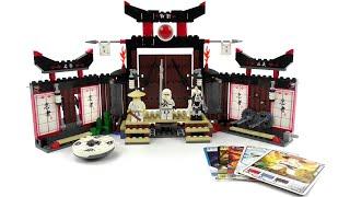 LEGO Ninjago Set 2504 - Spinjitzu Trainingszentrum  / Review deutsch