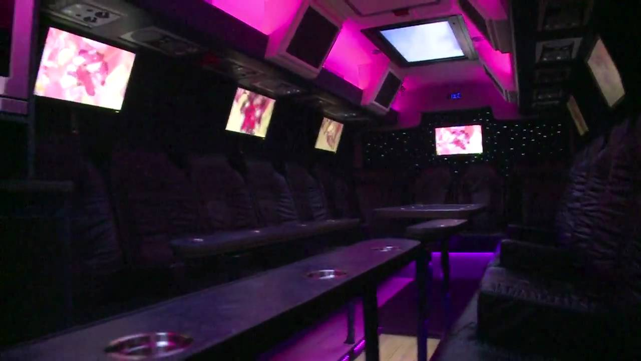 ABC SPECIALS Experience Vip Bus - Interieur - YouTube