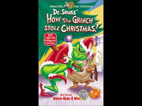 How The Grinch Stole Christmas 2000 Vhs.Opening To How The Grinch Stole Christmas 2000 Vhs