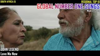 GLOBAL NUMBER ONE SONGS (week 3 / 2017)