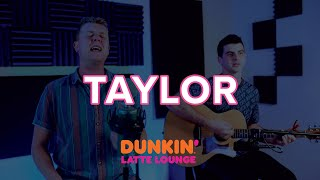 Taylor Performs At The Dunkin Latte Lounge