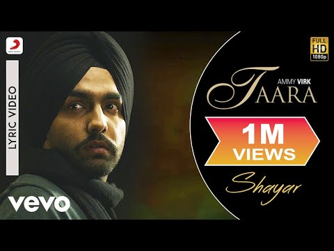 Ammy Virk - Taara |  Lyric Video