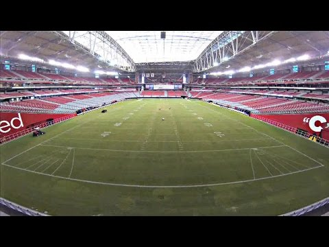 AWESOME: Time-lapse at Phoenix Stadium