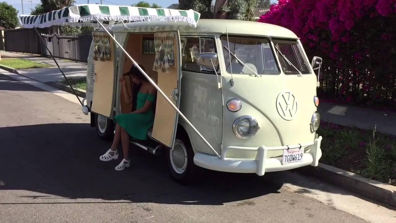 1966 volkswagen sundial camper bus - youtube