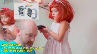 Brad Cs New Hairdresser! Goateesaver