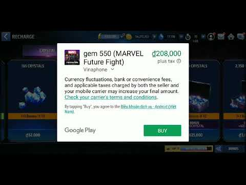 Mff Hack 100% Working : ( Buy Anything ) : Marvel Future Fight
