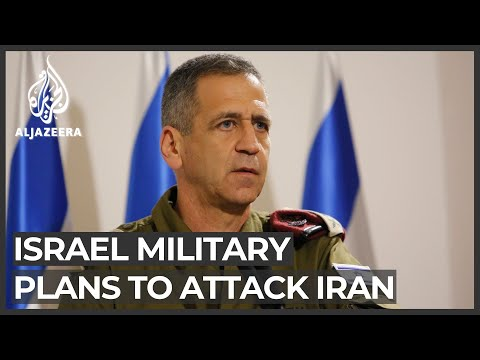 Israel Military Revising Operational Plans Against Iran: General