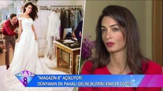 Magazin 8 Açıklıyor Dünyanın En Pahalı Gelinliklerini Kimler Giydi
